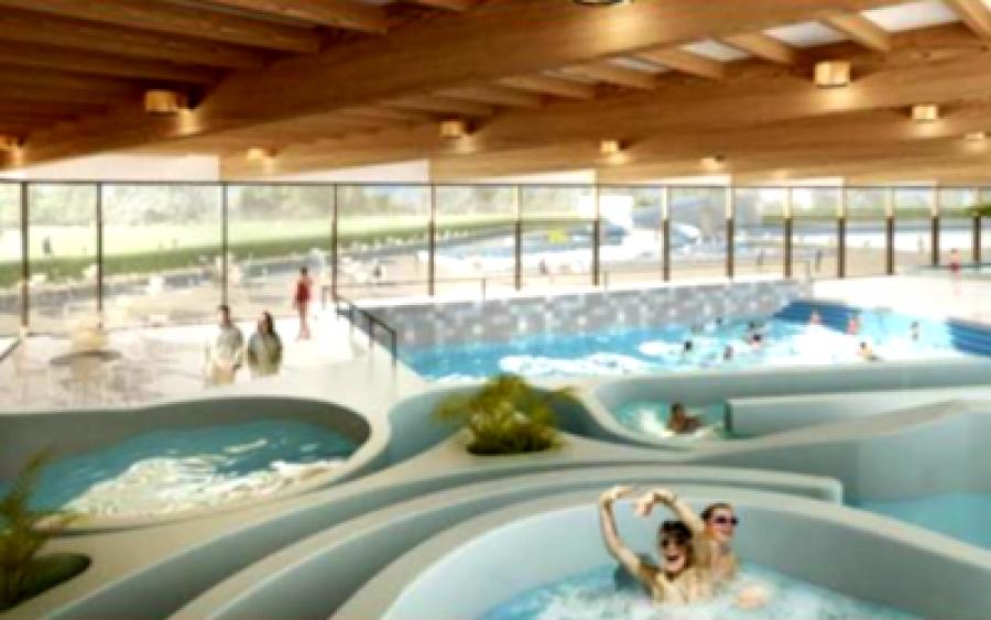 new municipality pool - Hasselt